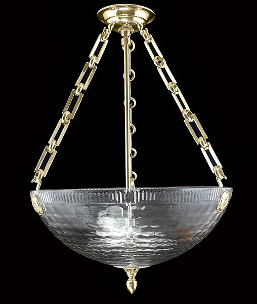 Chameleon Fine Lighting Rippled Bowl R122 100